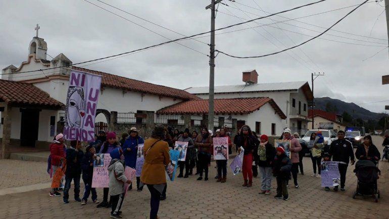 La familia de Delia Aguado en Salta también reclamó justicia por el femicidio
