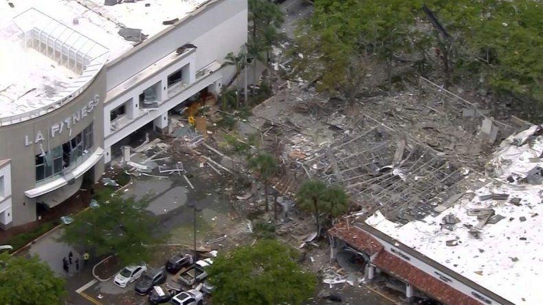 Al menos 15 heridos tras la explosión de un shopping en Florida