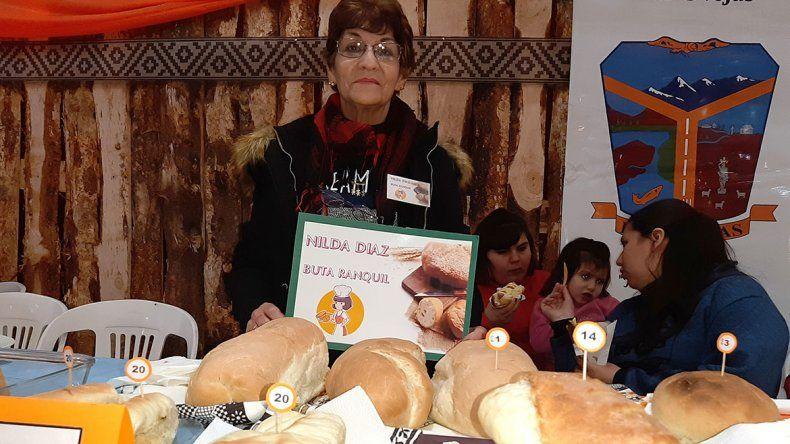 Las Ovejas: Nilda fue la reina del pan casero