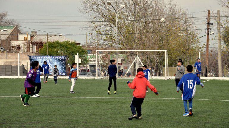 El fútbol que calmó el drama del barrio Gran Neuquén Norte