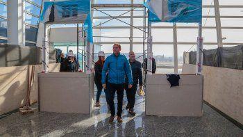 gutierrez: la obra del aeropuerto le da sosten a neuquen