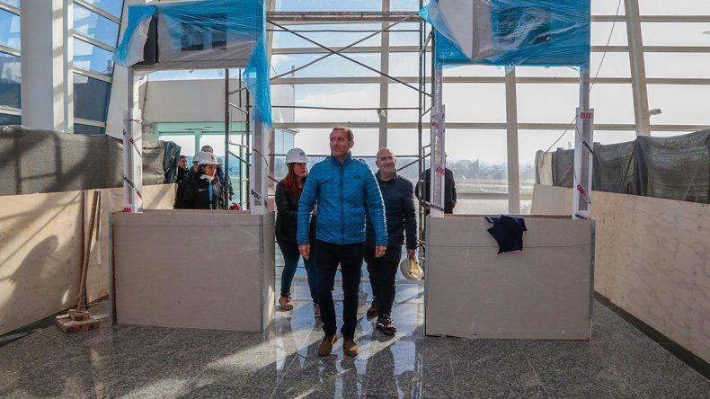 Gutiérrez: La obra del aeropuerto le da sostén a Neuquén