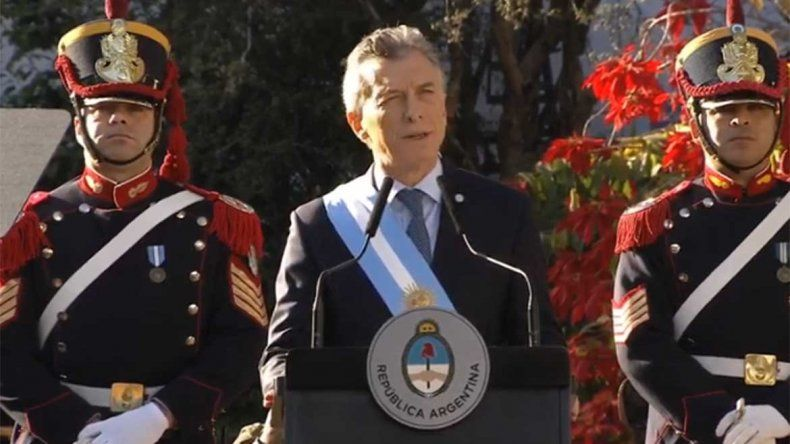Macri convocó este 9 de Julio a trabajar más allá de las diferencias
