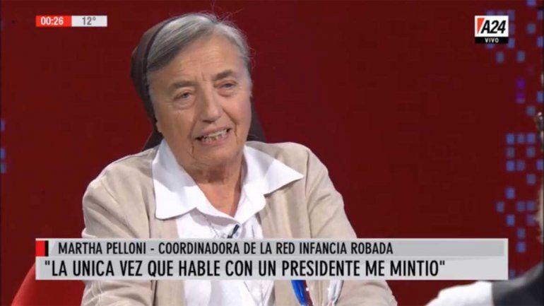 Martha Pelloni: La Cámpora es el brazo del narcotráfico de Cristina