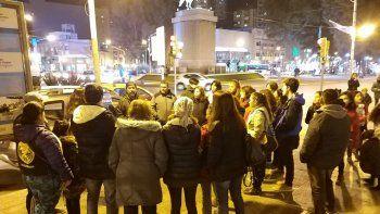 red solidaria: 21 personas en situacion de calle en neuquen