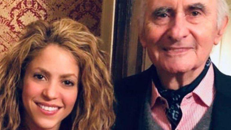 Shakira se despidió de Fernando de la Rúa en las redes sociales