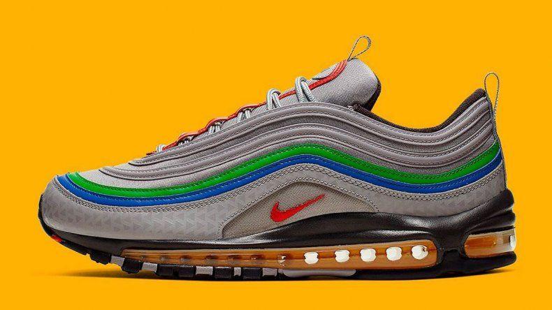 Mirá las Nike Air Max 97 inspiradas en la Nintendo 64
