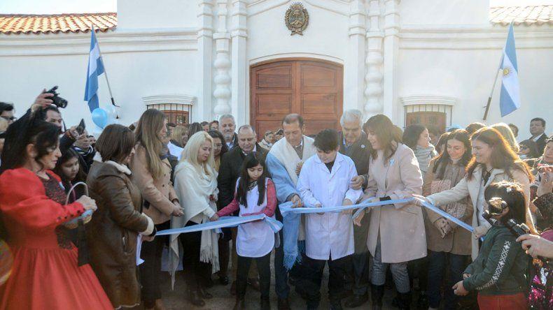 Senillosa inauguró su réplica de la Casa de Tucumán
