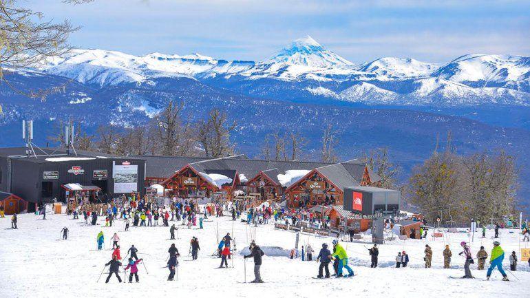 La nieve fue la protagonista del fin de semana extra largo