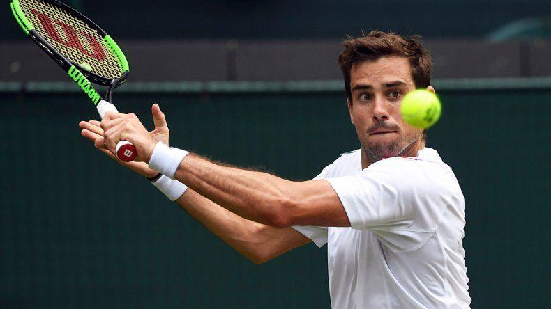 Se acabó el sueño de Guido Pella en Wimbledon