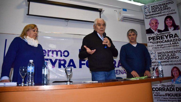 En un acto, Guillermo Pereyra ratificó que el aborto es un derecho de la mujer