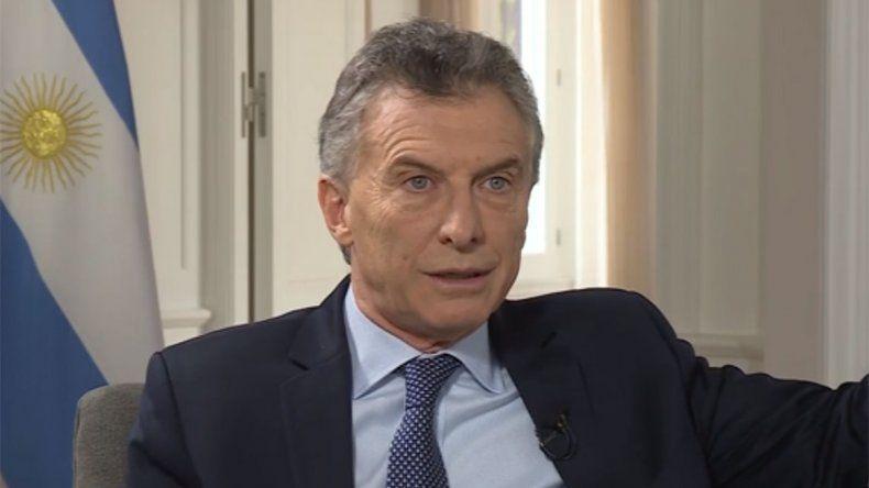 Macri endureció su discurso contra el sindicalismo y Alberto Fernández