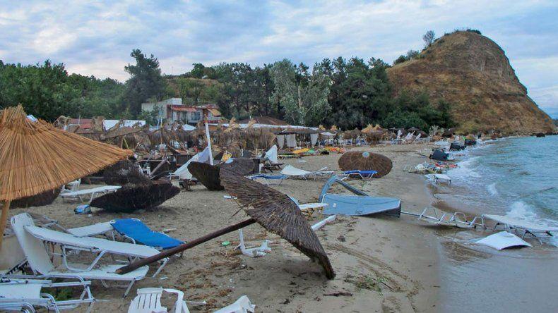 Una tormenta de granizo dejó siete muertos en Grecia