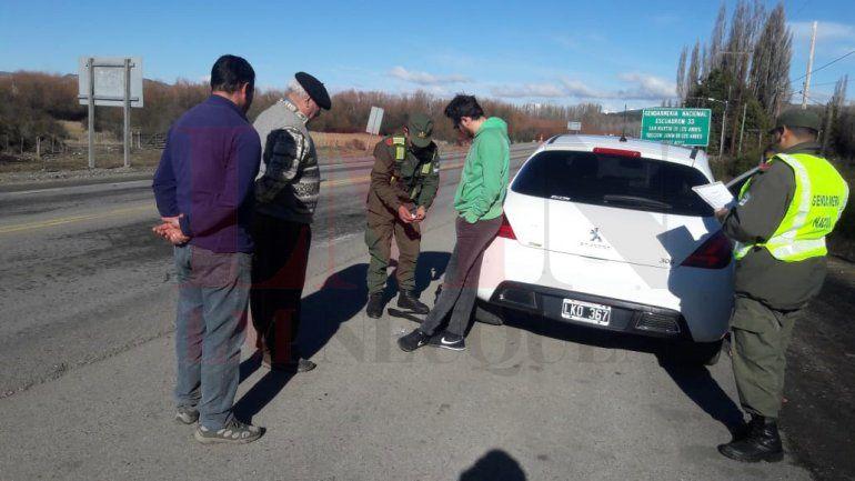 Gendarmería detuvo con drogas al cantante de No Te Va Gustar en la cordillera