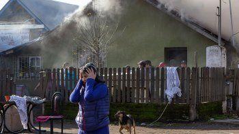 abuela y sus nietos se salvaron de voraz incendio