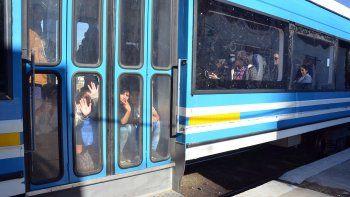 el paro de colectivos lleno los vagones del tren del valle