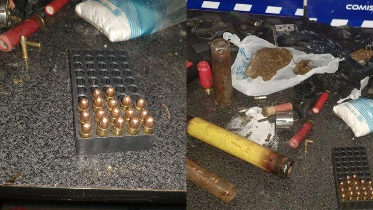 Cuenca XV: desbaratan kiosco narco y secuestran drogas y armas