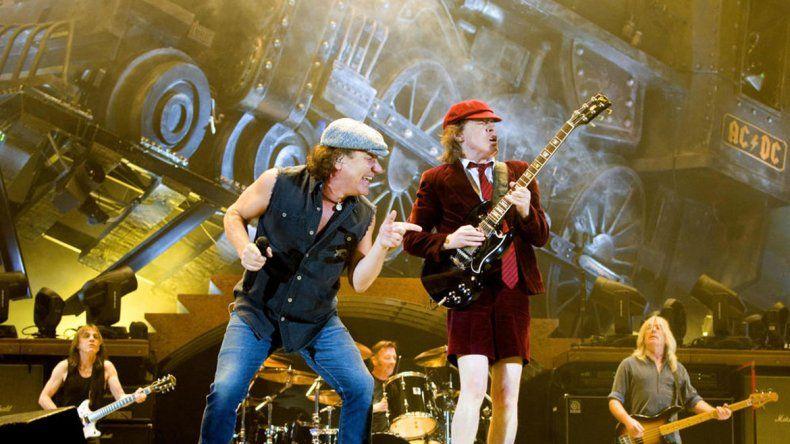 AC/DC volvería a las giras con Brian Jhonson
