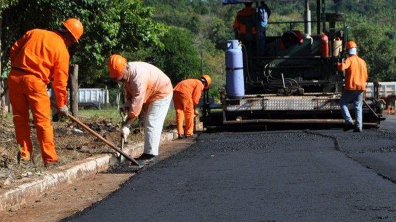 Un solo frentista se opone al pavimento en La Angostura