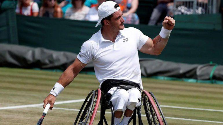Gustavo Fernández logró su primer título en Wimbledon