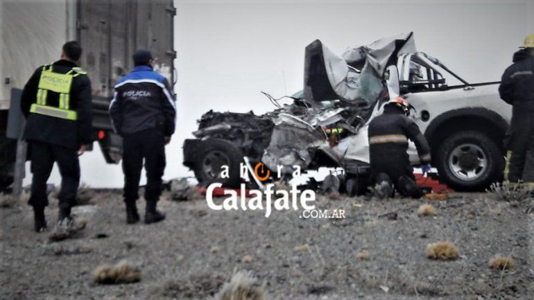 Tres integrantes de una familia murieron en un accidente en la Ruta 40