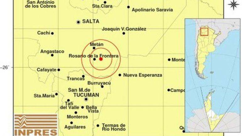 Un sismo de 4,5 grados sacudió la mañana salteña