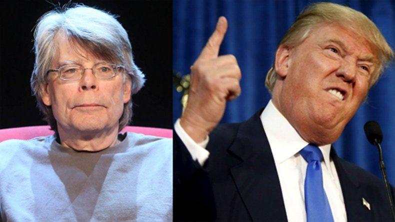 Stephen King: Trump es más aterrador que cualquiera de mis libros