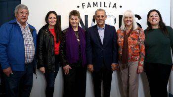 pechi quiroga inauguro muestra homenaje a una familia pionera