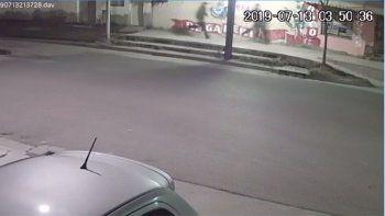video: asi atacaron y escaparon los ladrones que hirieron a pablo sanchez en villa maria