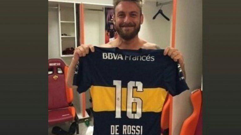 De Rossi decidió jugar en Boca y llegaría al país en los próximos días