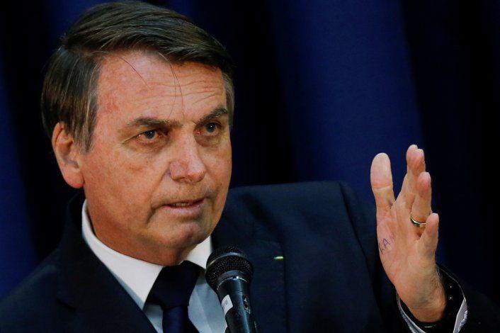 Bolsonaro amenaza con sancionar a Argentina en el Mercosur si gana Alberto Fernández
