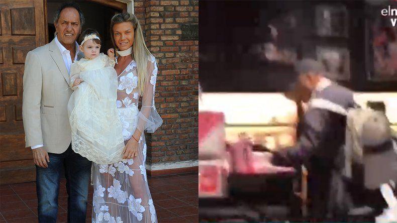 Ritual de reconciliación: atraparon a Daniel Scioli comprando tangas para su novia
