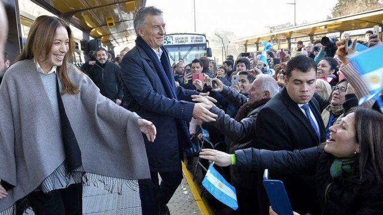 Macri volvió a respaldar a Vidal y criticó al peronismo