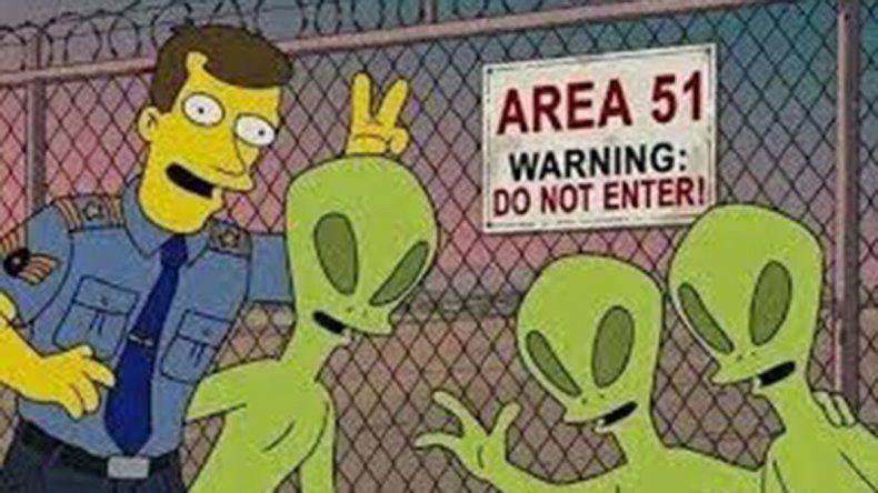 Mirá la ola de memes que se generó en las redes por la invasión al Área 51