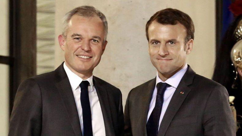 Renunció el tercero de Macron por el mal uso de fondos públicos