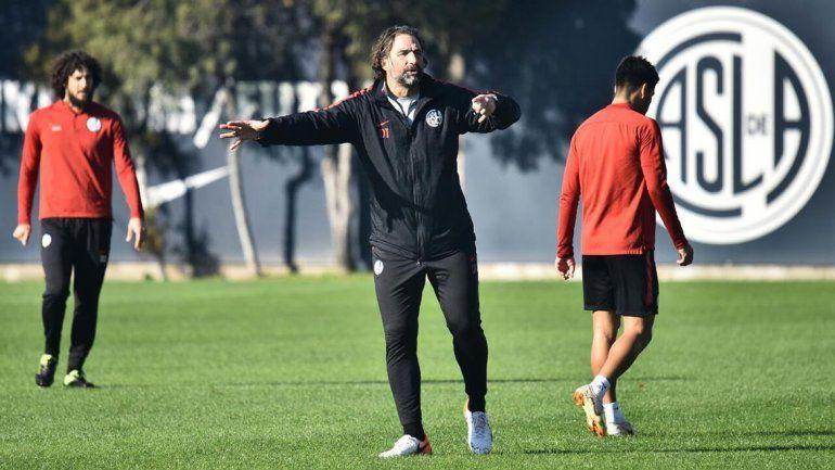 Pizzi: Nuestro objetivo pasa por ganar la Libertadores y Superliga