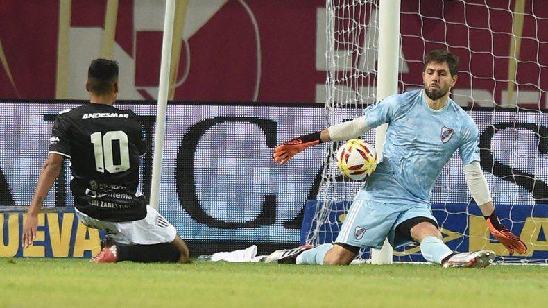 Los penales que le dieron a River la clasificación en la Copa Argentina