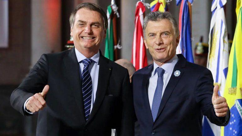 Macri, del chiste a Bolsonaro a las críticas a Maduro