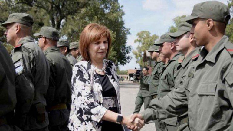 Bullrich: Gendarmería es la institución más valorada del país