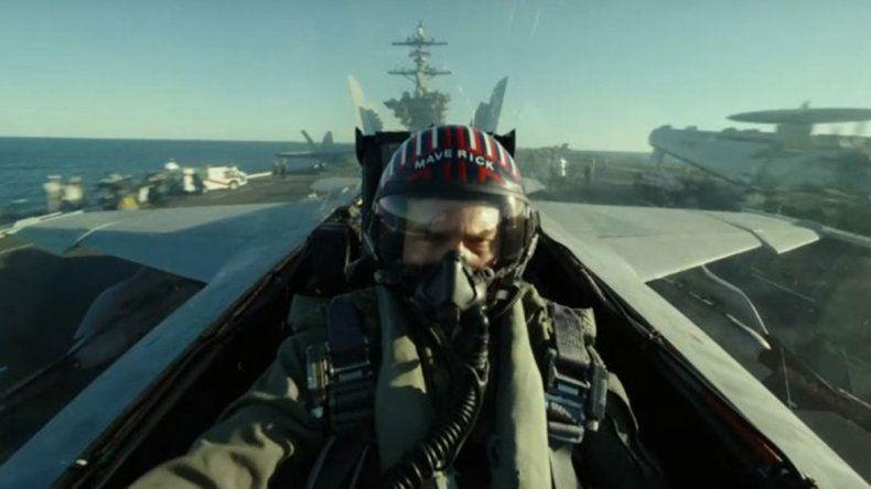 Mirá el increíble primer tráiler de Top Gun: Maverick