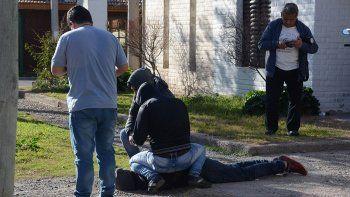 los detenidos confesaron el brutal ataque al taxista pablo sanchez: 6 meses de preventiva