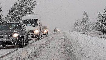 el panorama del finde: frio con nevadas intensas, lluvia y viento