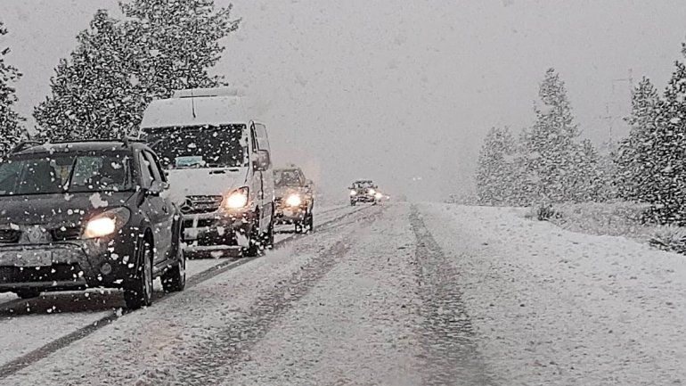 El panorama del finde: frío con nevadas intensas, lluvia y viento