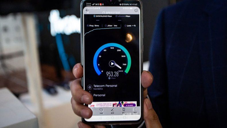 La red 5G en los celulares de Argentina llegaría para el año 2021