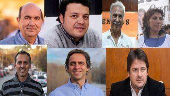 conoce a los siete candidatos que competiran por la intendencia