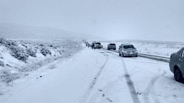 Qué rutas están intransitables por el mal clima en la provincia
