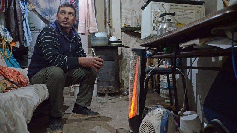 La odisea de enfrentar las bajas temperaturas sin gas