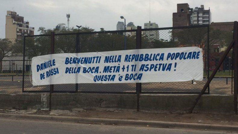 La bandera en La Boca para De Rossi y avanza lo del Pipa
