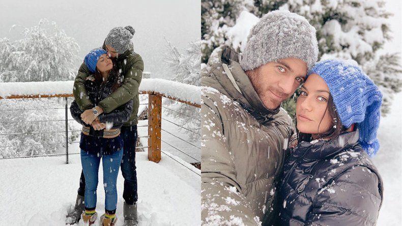 Atrapado en Bariloche, Delpo confirmó su noviazgo con Jujuy