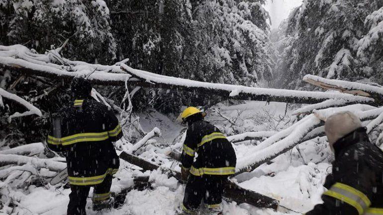 Lo que dejó el temporal en Villa La Angostura: apuntan a promocionar agosto